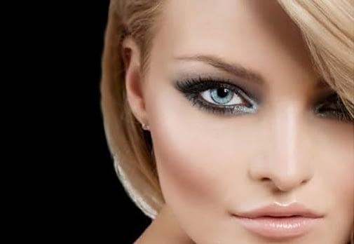 Maquillaje de ojos para la cara vacía