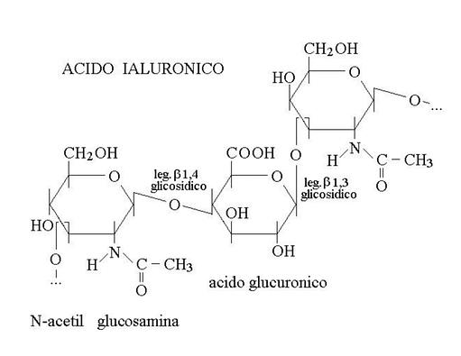 fórmula de ácido hialurónico