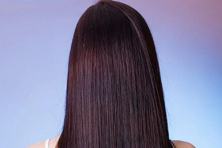 estirar el pelo