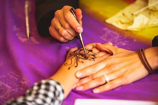 Tatuaje Bio Cuerpo de Henna