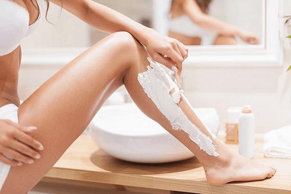 Depilar con crema depilatoria