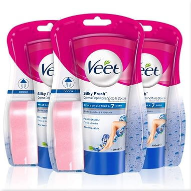 Veet Silk & Fresh Technology Crema depilatoria en la ducha