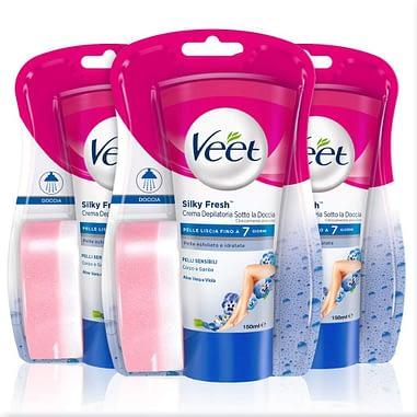 Veet Silk & Fresh Technology Crema depilatoria en la ducha