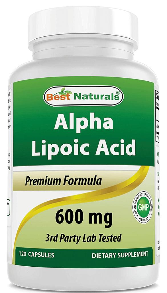 Mejor ácido lipoico Naturales
