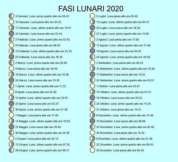 Pelo de calendario lunar