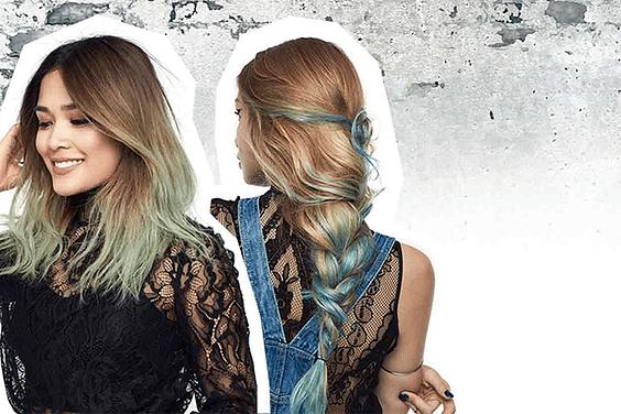 Spray para colorear el pelo -