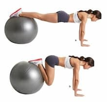 fitball abs