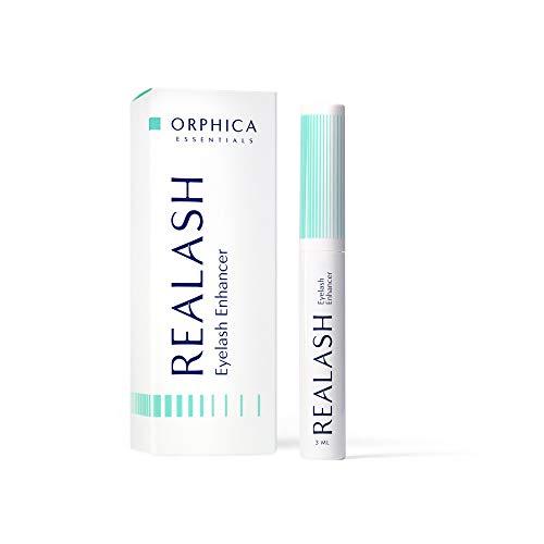 Orphica Realash Serum para pestañas 3 ml, Potenciador de pestañas, Suero para pestañas alargador