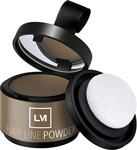 Leon Miguel HAIR LINE POWDER - Corrector / Puder Approach |  para el crecimiento del cabello y el cabello mediante el maquillaje de las sombras impermeable (ROSA)