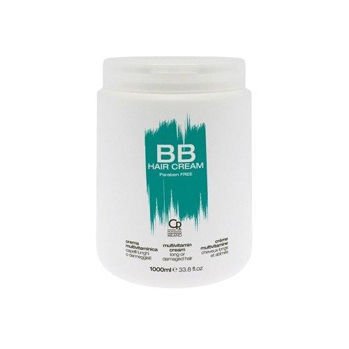 BB Hair Care - Crema multivitamínico - Máscara profesional para los cabellos largos y dañados - Refuerza y protege contra las puntas dobles y la rotura - Tratamiento con bálsamo ...