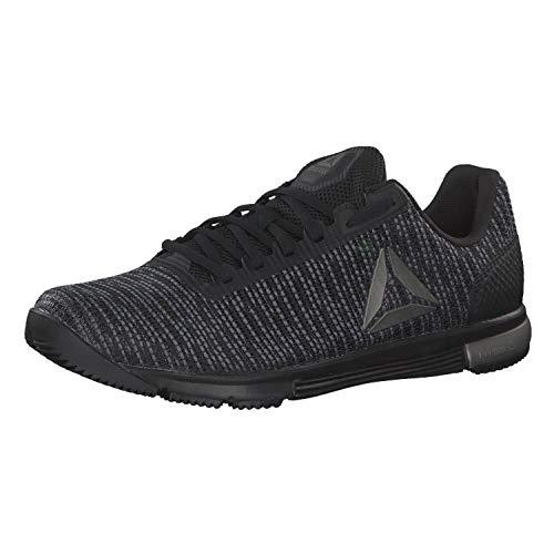 Reebok Speed TR Flexweave, zapatos de fitness para hombre, negro tiburón multicolor negro 000, 40,5 EU