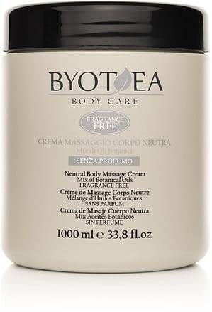 Crema de masaje Byothea sin perfume