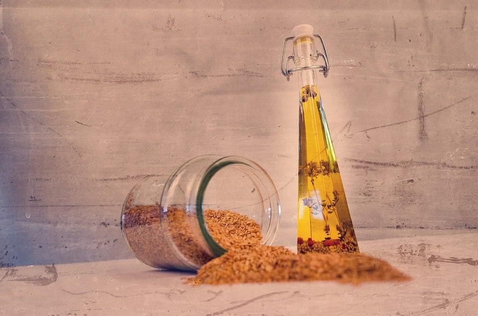 guía el aceite de germen de trigo