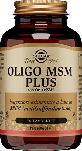 Solgar Oligo MSM Plus - 60 comprimidos