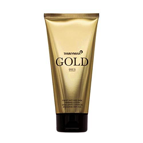 Loción aceleradora de bronceado anti edad Tannymaxx Gold con hialuronato Hysilk - 200 ml