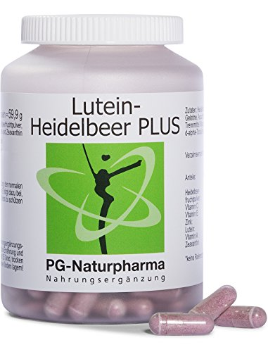 Luteína ocular, 160 cápsulas, suplementos para los ojos con polvo de arándano, luteína y zeaxantina, vitamina C, vitamina E, zinc, vitaminas para la visión