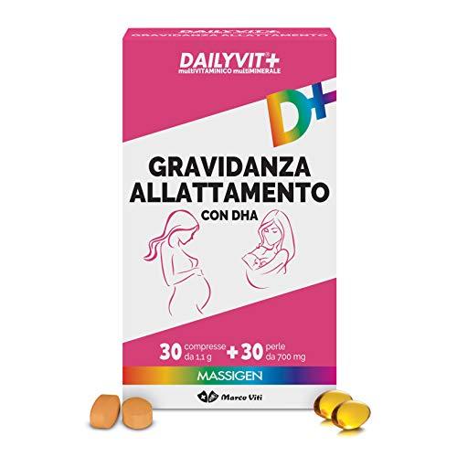 Massiges Daylyvit - Multivitamínico y multimineral para el embarazo y la lactancia materna - 330 g