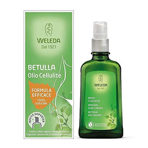 Aceite de celulitis de abedul eficaz con fórmula Weleda - 100 ml.