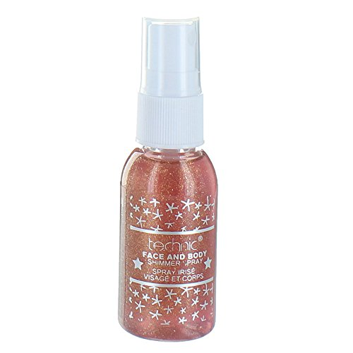 Spray brillo facial y corporal Technic 30ml-naranja
