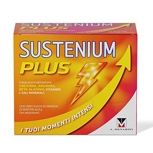 Sustenium Plus: el suplemento tónico a base de vitaminas, sales minerales y con adición de creatina para tener siempre la máxima energía.  Paquete de 22 ...