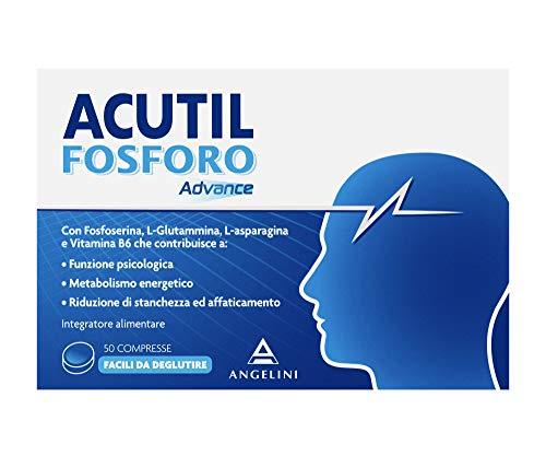 Acutil Fosforo Advance - 50 comprimidos de 250 mg, total: 12,50 g