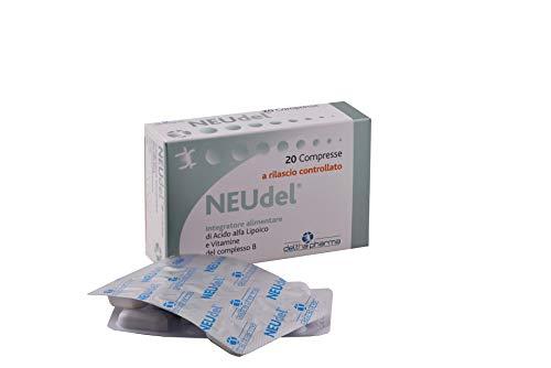 Neudel Suplemento Alimentario Antioxidante y Ácido Alfa Lipoico Antiajust 600mg con patente patentada de liberación controlada y vitaminas del grupo B, para la funcionalidad del ...