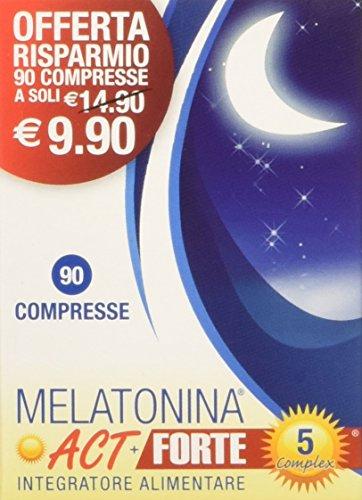 ACT melatonina Forte 5 Complejo, azul, 90 comprimidos