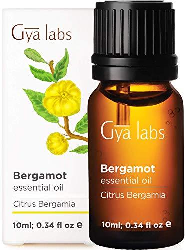 Aceite esencial de bergamota: alivio refrescante para los músculos doloridos y cansados (10 ml) - Aceite de bergamota de grado terapéutico 100% puro