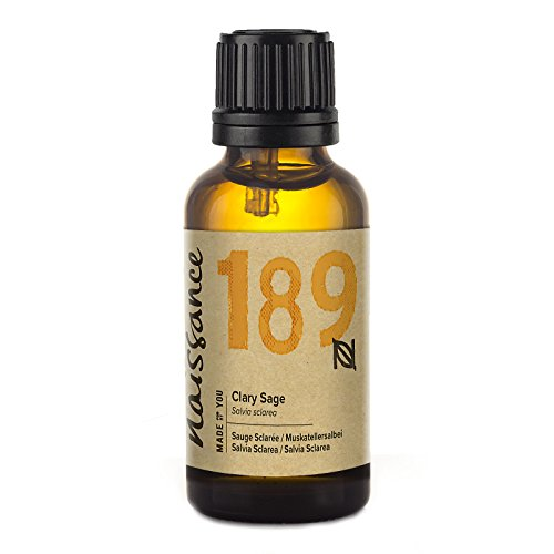 Aceite Naissance Clary Sage - Aceite esencial 100% puro - 30 ml