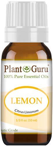 Aceite esencial de planta Guru Lemon.  0 ml.  Grado terapéutico 100% puro, sin diluir.