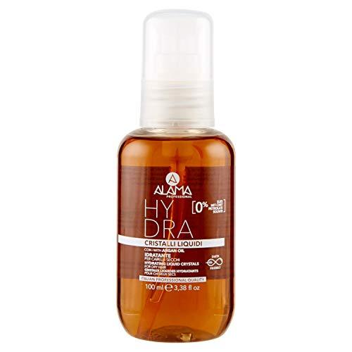 Alama Profesional Hydra Cristales líquidos hidratantes para cabellos secos, ámbar, 100 ml