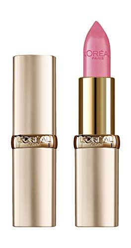 L'Oréal Paris Make Up Long Lasting Last Lipstick Color Riche Full Color Satin Acabado 303 Rose Tierno - Paquete de 1,18 ml
