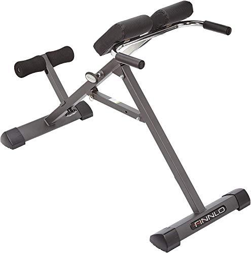 Finnlo Tricon, ejercicio para la espalda adulto unisex, negro / blanco / gris, M