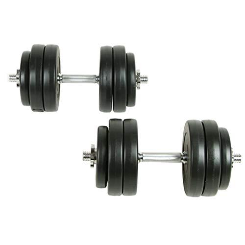 vidaXL Barbell con discos 30 kg Hombros Brazos Pectoral Entrenamiento