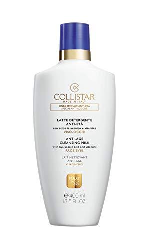 Leche limpiadora anti-envejecimiento peñistas cara y ojos - 400 ml.