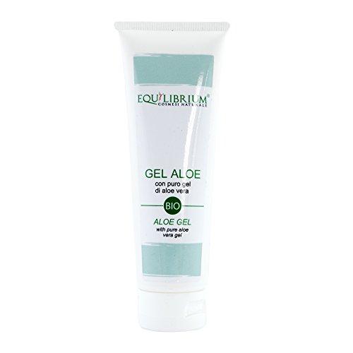 EQUILIBRIO - COSMÉTICOS NATURALES Gel de Aloe 99% 150 ml BIO con gel de Aloe Vera puro