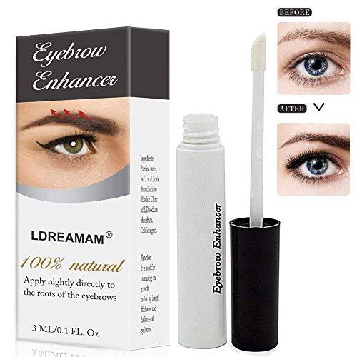 Tratamiento de cejas, suero de cejas, potenciador de cejas, suero de cejas, revitaliza las cejas, estimula el crecimiento, para el crecimiento ...