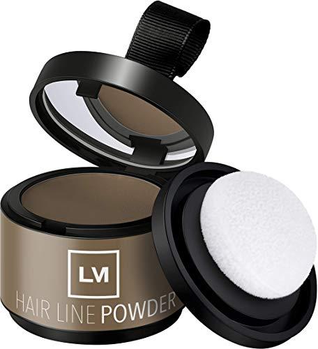 Leon Miguel HAIR LINE POWDER - Enfoque corrector / Puder |  para el pelo y el pelo en crecimiento mediante Shadow Make Up |  impermeable (ROSA)