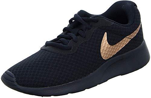 Zapatillas deportivas Nike Tanjun para mujer, negros (negro / rojo MTLC bronce 005), 37,5 EU