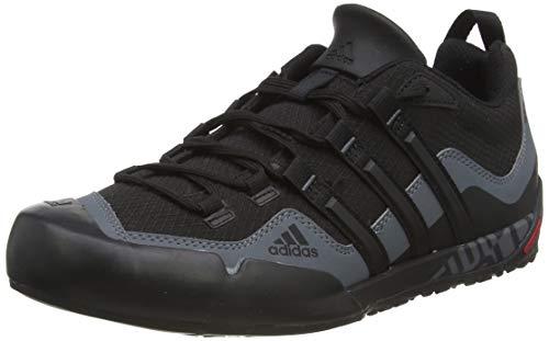 adidasTerrex Swift Solo - Zapatos de fitness al aire libre para hombre, negros (negros (negres1 / negros)), 44 2/3