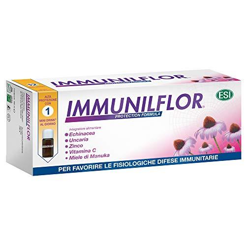 ESI Immunilflor: 12 mini bebidas, verdes, 180 mililitros