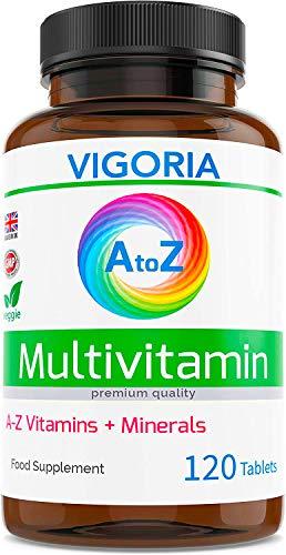 Multivitamínico con minerales y hierro: aporta energía y fortalece el sistema inmunitario.  Complejo equilibrado de vitaminas para la salud y el bienestar generales.