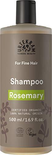 Champú orgánico Urtekram Rosmarin, cabello delgado, 500 ml