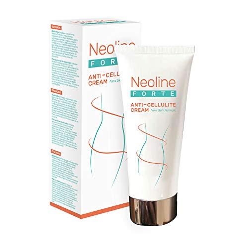 Crema anticelulítica Neoline Forte - Crema para adelgazar y reafirmar - Elimina los muslos, las piernas, los brazos, las nalgas, el vientre y las caderas de la celulitis - Crema para adelgazar la piel ...