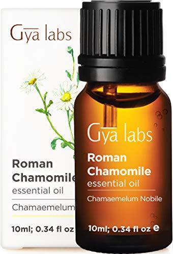 Aceite esencial de manzanilla romana: calma pacíficamente los dolores del día (10 ml) - Aceite de manzanilla de grado terapéutico 100% puro
