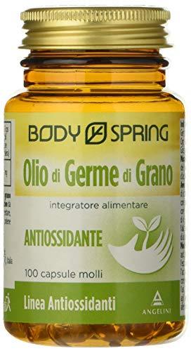 Aceite corporal de germen de trigo - 100 cápsulas suaves