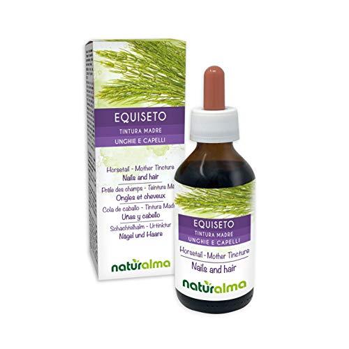 Cola de caballo o cola de caballo (Equisetum arvense) hierba Tintura madre sin alcohol naturalmente |  El extracto líquido  cae 100 ml |  Complemento alimentario Vegano