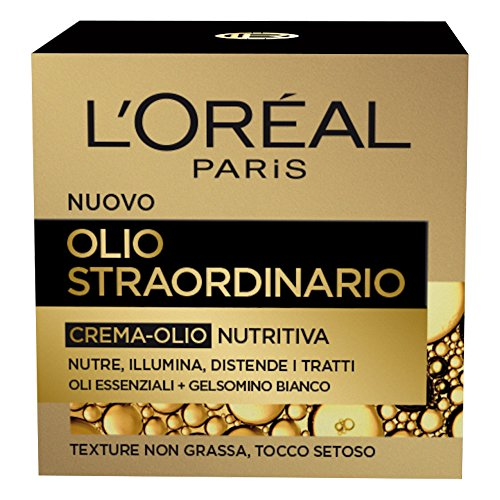 L'Oréal Paris Dermo Expertise Soin Extra Oil Extra-Cream Oil-Oil, nutre, ilumina y relaja las funciones, 50 ml