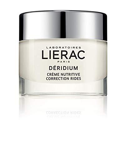 Lierac Déridium Crema facial antiarrugas nutritiva, apta para pieles secas a muy secas, formado 50 ml