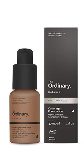 Sistema de suspensión de pigmentos ligeros de 30 ml de suero Ordinary - Foundation, con cobertura moderada